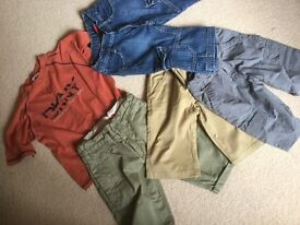 Boys clothes bundle. Age 5-6. Includes Monsoon DKNY, RJR, Levis and autograph
