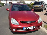 Citreon xsara 2.0 hdi turbo diesel desire 2004 facelift model 5 door hatch mot November taxed