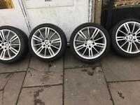 BMW 3 Series 18 Alloys with Runflat Tyres