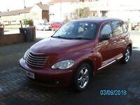 CHRYSLER PT CRUISER RED AUTO REGISTERED JAN 2006