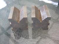 ECLIPSE * No 231 Pair of Small Precision Engineers Vee Blocks