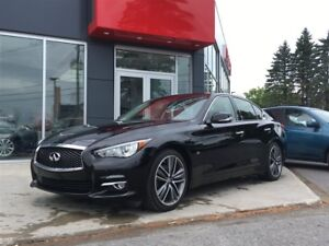 2015 Infiniti Q50 LIMITED GPS*CUIR*FULLY LOADED*AWD