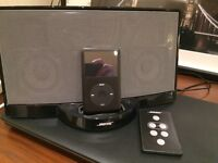 Bose Dock Speakers Ipod, with two remote controls