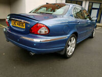 2002 JAGUAR X-TYPE 2.5 V6 4 WHEEL DRIVE