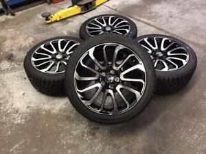 "20"" Range Rover Wheels and Winter Tire Package (Range Rover) Calgary Alberta Preview"