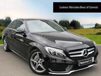 Mercedes-Benz C Class C250 D AMG LINE (black) 2015-10-30