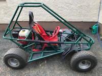 Off-road kart. Honda alltrak buggy. Petrol GoKart Honda GX160 engine Kart Dirt Buggy.