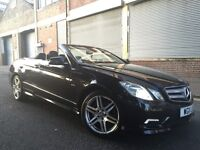 Mercedes-Benz E Class 2011 2.1 E220 CDI BlueEFFICIENCY Sport 2dr CONVERTIBLE, 1 OWNER, FULLY LOADED