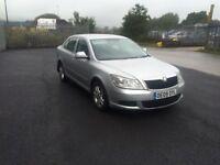 2009 09 facelift skoda octavia 1.9 tdi hpi clear 2 keys 5 speed alloys dab radio good runner £1595