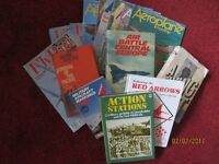 GIGANATIC COLLECTION OF AIRCRAFT BOOKS - REFERENCE, FICTION, NON-FICTION, MAGAZINES AND MEMORABILIA