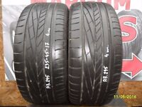 AB295. 2X 235/45/17 94Y ZR 2X4MM GOODYEAR EXCELLENCE - USED TYRES