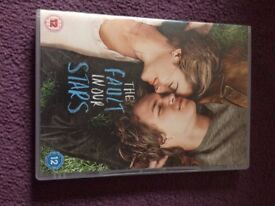 Fault In Our Stars DVD and Book
