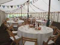 Beautiful handmade, vintage style bunting for hire, weddings, christenings, tea parties, events