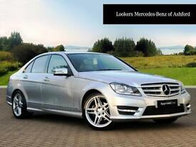 Mercedes-Benz C Class C220 CDI BLUEEFFICIENCY AMG SPORT (silver) 2014-03-20