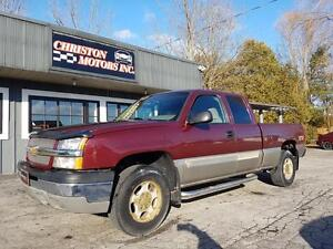 2003 Chevrolet SILVERADO 4X4 CERTIFIED ETESTED $4999+taxes