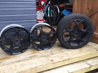 Ford transit original alloy wheels