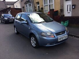Chevrolet Karlos in sky blue 57 reg 5 door hatchback,px options available