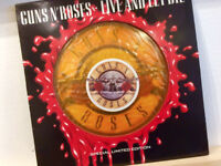 "GUNS N' ROSES - LIVE AND LET DIE LIMITED 12"" ORANGE VINYL"