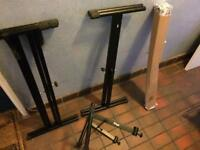 Keyboard stands x3