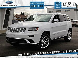 2014 Jeep Grand Cherokee **SUMMIT*AWD*CUIR *TOIT*NAVI*CAMERA*CRU