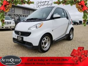 2013 smart fortwo Pure - EFFICIENT 1L 2 SEATER! LOW MILEAGE!