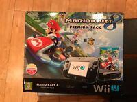 Boxed Nintendo Wii U Premium Pack Like New