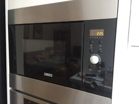 Brand new Zanussi built in microwave and grill ZBG26542XA