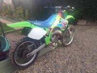 1992 Kawasaki kx125 evo motocross bike swap