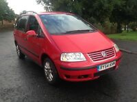 CHEAPEST VOLKSWAGEN SHARAN TDI AUTO 2005 54 7 SEATER SPARES/REPAIR PRICE TO SELL £595 NO OFFERS