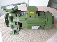 CHEAP SAER water pumps 4-7.5kw 5.5-10hp 25-45m3/hr farm grower industry home