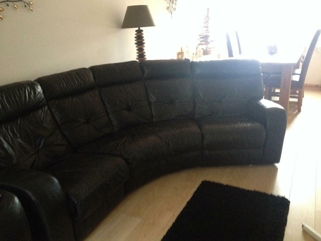 Black Leather Reclining Sofa And Armchair In Ilkeston Derbyshire Gumtree