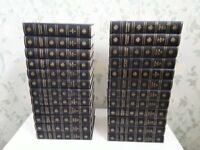 1959, 24 Encyclopædia Britannica (Encyclopaedia Encyclopedia) Blue Leather Bound Books Free Delivery