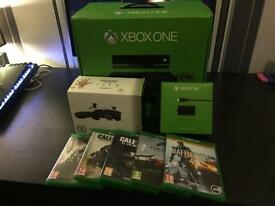 X Box One with Kinect and Scuf Controller