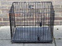 Pet crate.