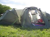 Outwell Hartford XL Tent for sale - sleeps 6 to 8 BARGAIN £300 ono (cost over £600 new)