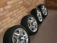 Dirt cheap Momo Alloy wheels with tyres