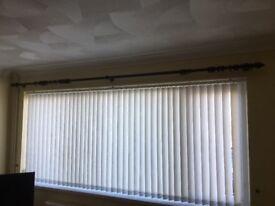 Huge 3 meter curtain pole 35 mm diameter (wood) Swansea