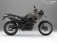 BMW F700GS side / central stand