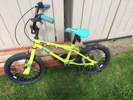 Kids Apollo bike from Halfords- 16inch diameter