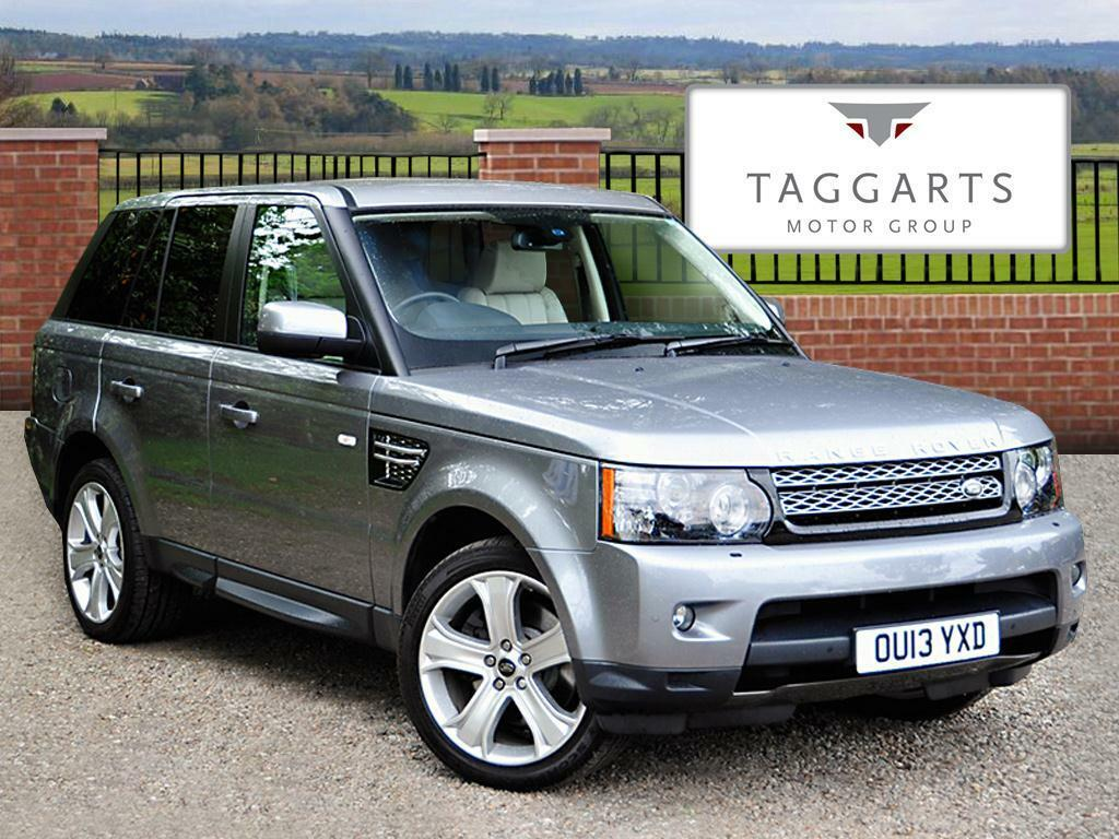 land rover range rover sport 3 0 sdv6 hse black edition 5dr auto 2013 in southside glasgow. Black Bedroom Furniture Sets. Home Design Ideas