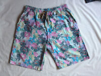 Paul Smith Men's Swimming Shorts, multi-coloured pastel floral design. Worn once.