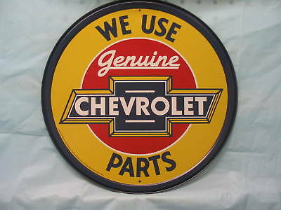 Chevrolet Tin Metal Adverting Sign Auto Parts Chevy Car Truck Chevrolet Truck Parts