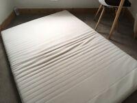 White double mattress topper IKEA Tussöy