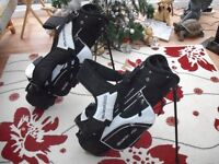 2x Children's Slazenger Golf Bags (perfect condition)