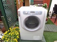 HOTPOINT AQUALTIS CONDENSER DRYER 8KG LOAD B ENERGY LIKE NEW