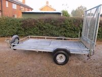 """TRAILER 9FT X 5FT 6"""" HARDLY USED WITH ELECTRICS"""