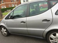 Mercedes A class 190, low mileage, automatic