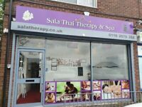 Thai Massage & Spa in Glenfield- only £40 for an hour! Pamper yourself!