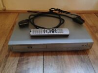 Pacific Silver DVD player with remote control and scart lead