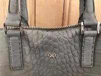 Anya Hindmarch Grey Huxley Tote Bag